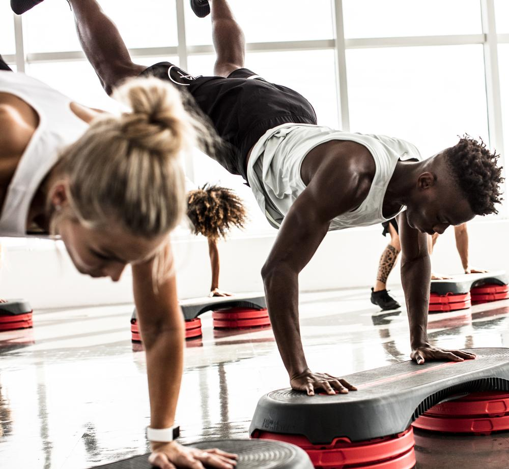 Les Mills offers 21 workouts, including Grit. All are updated every three or four months