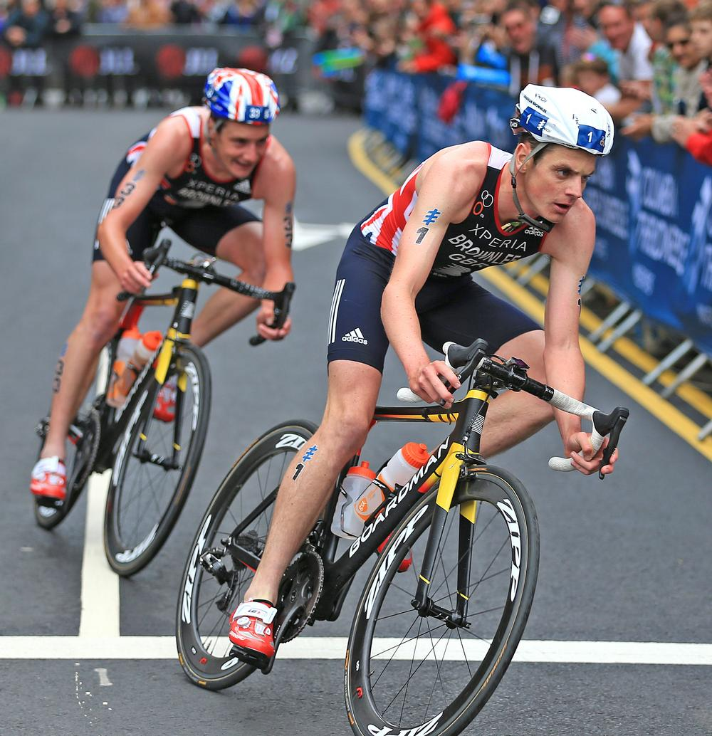 The Brownlee brothers' success has inspired a boom in the triathon market / © Nigel French/PA Archive/PA Images