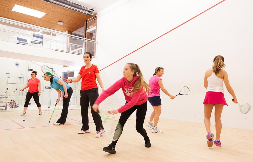 The Squash Girls Can initiative has resulted in 2,300 new female players taking up the sport