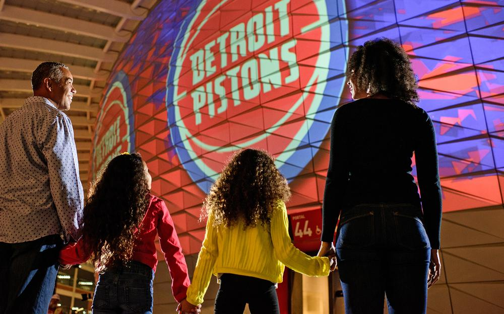 Modern sports venues like Little Caesars Arena want to attract more women and families