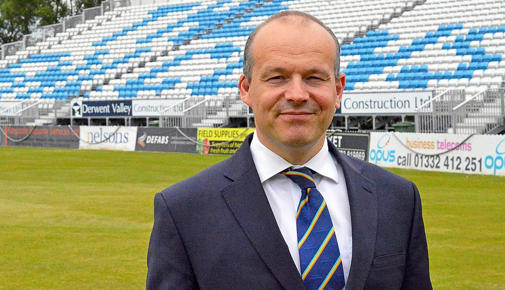 Simon Storey, CEO of Derbyshire CCC, has actioned a £4.5m revamp of the club's facilities