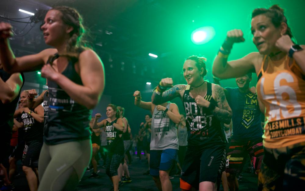 People are attracted to an exercise class because of the instructor, not simply the offer