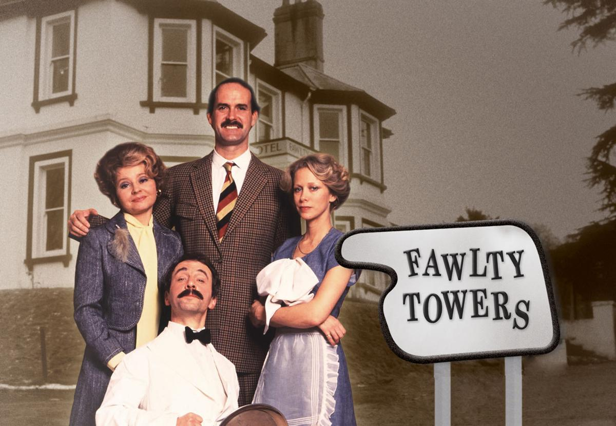 Although it only ran for 12 episodes between 1975-1979, <i>Fawlty Towers</i> was voted as the British Film Institute's greatest television programme of all-time in 2000