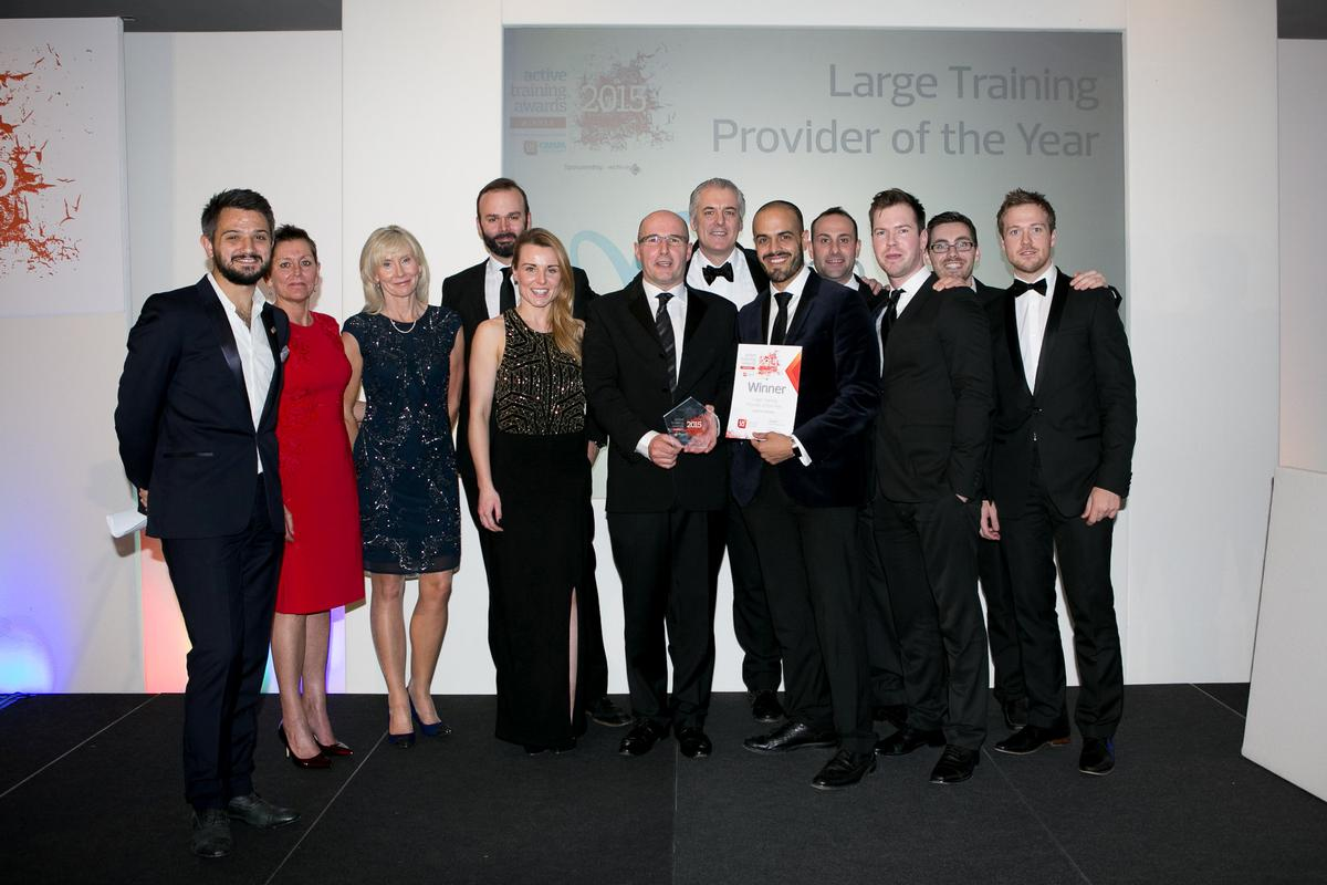 Lifetime Training picked up three of the ten awards on offer