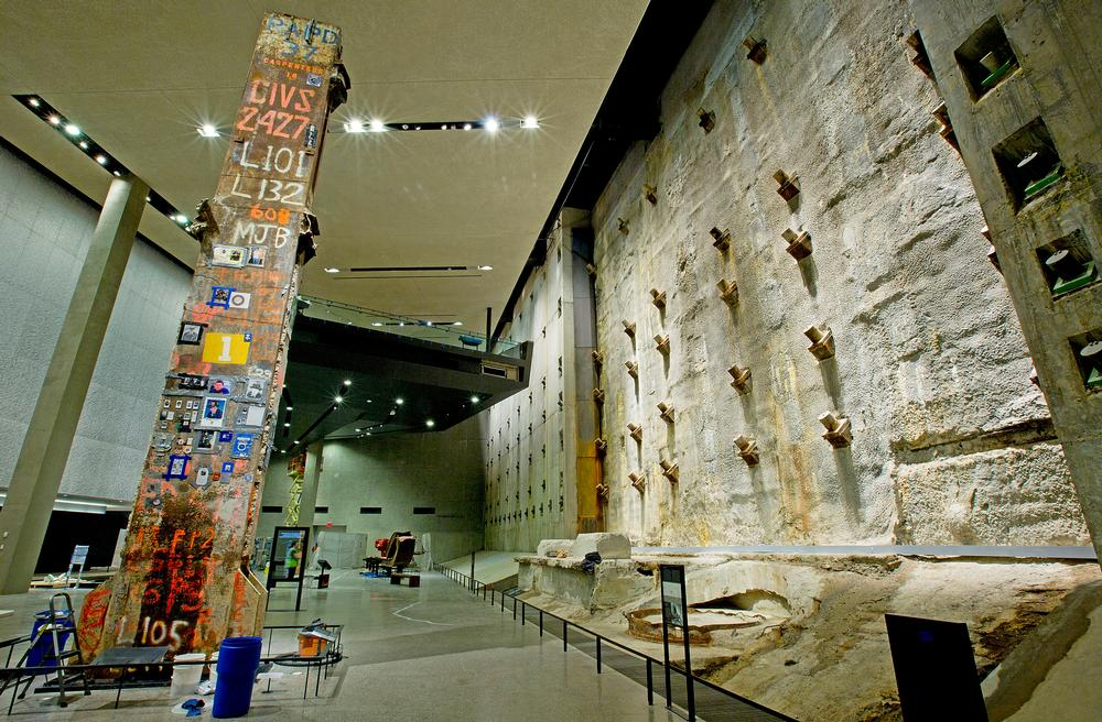 The slurry wall in Foundation Hall / PHOTO: © JIN LEE
