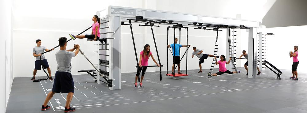 The Queenax bridge offers accessibility and flexibility for all fitness levels