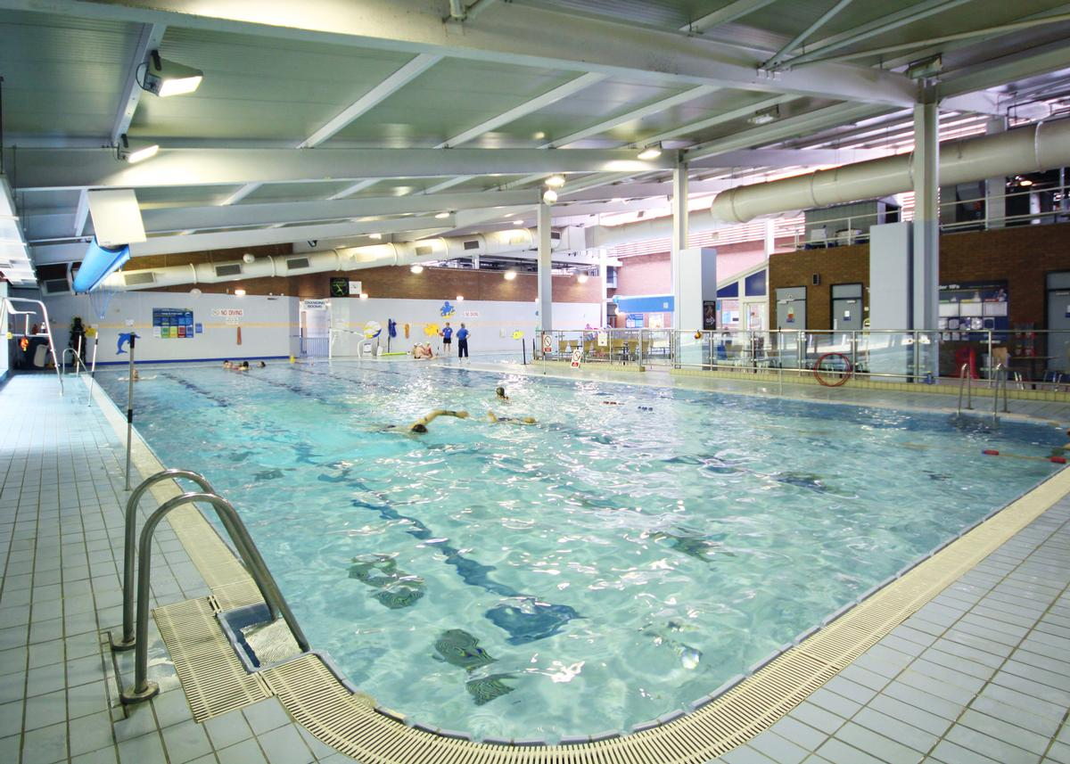 The strategy recommends the expansion of the Urmston Leisure Centre in Trafford