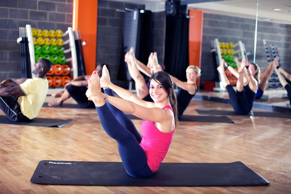 easyGym Oxford Street sees its group exercise studio as one of its core retention tools