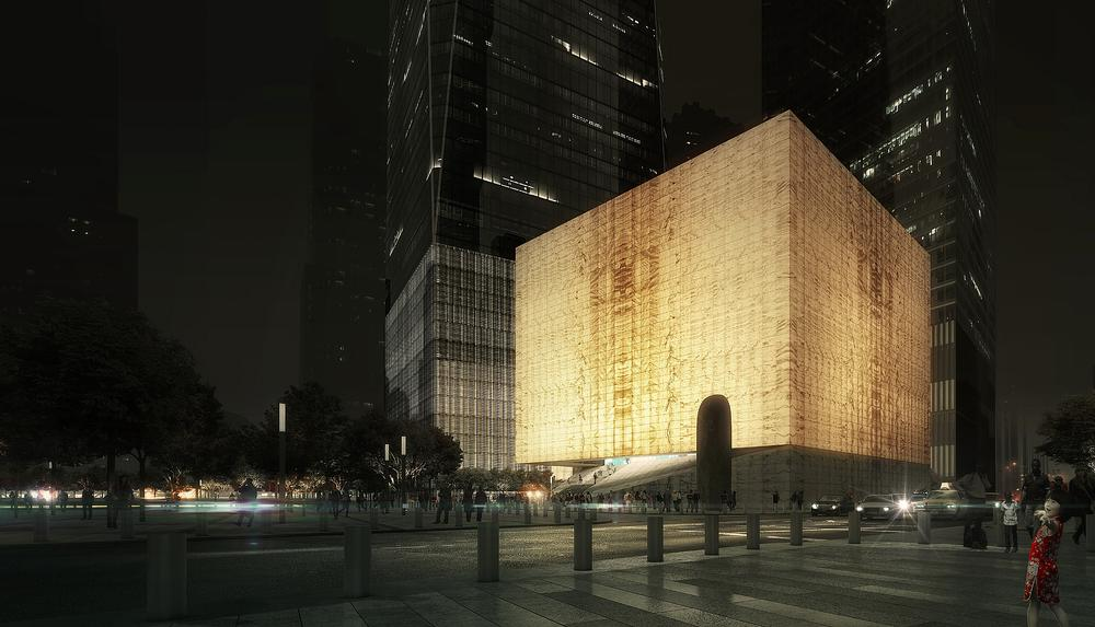 Prince-Ramus wanted to create a building that is both beautiful and technologically groundbreaking
