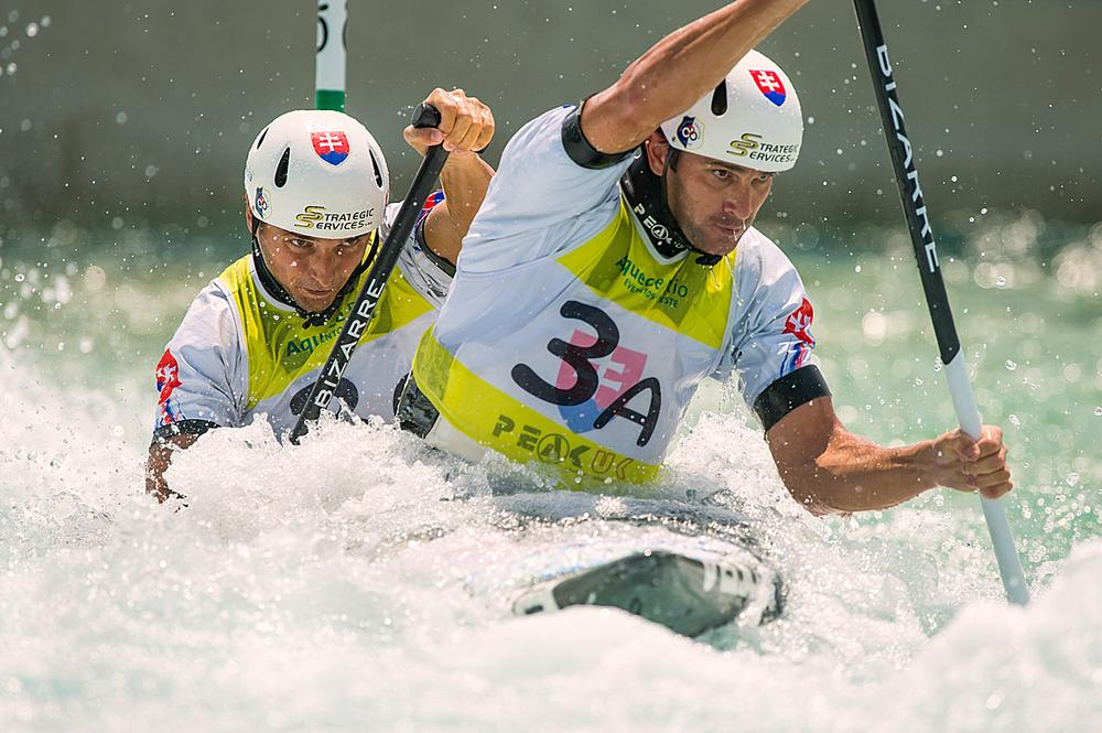 The canoes at Rio will be fitted with GPS devices