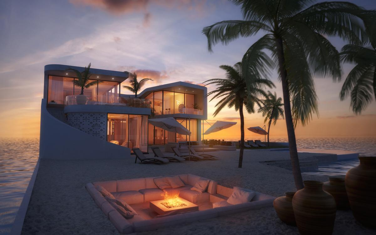 Amillarah vice-president Jasper Mulder said: 'People are looking for more privacy, intimacy and freedom to reflect their lifestyles, and we are going to meet that demand' / Amillarah Private Islands