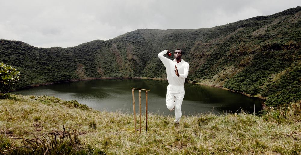 An charity calendar designed to raise funds highlighted the absence of cricketing facilities in Rwanda