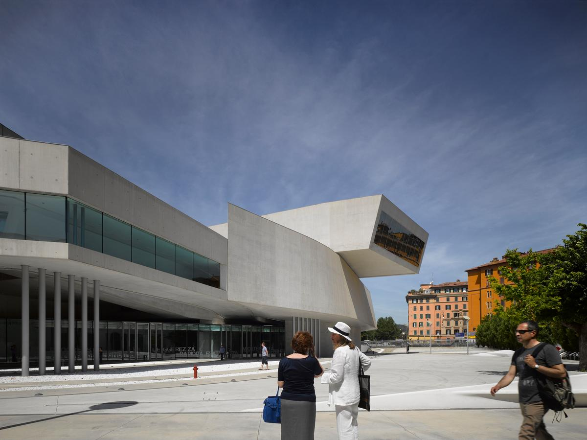 The success of the MAXXI Museum of XXI Century Art in Rome helped catapult Hadid towards global fame / Richard Bryant