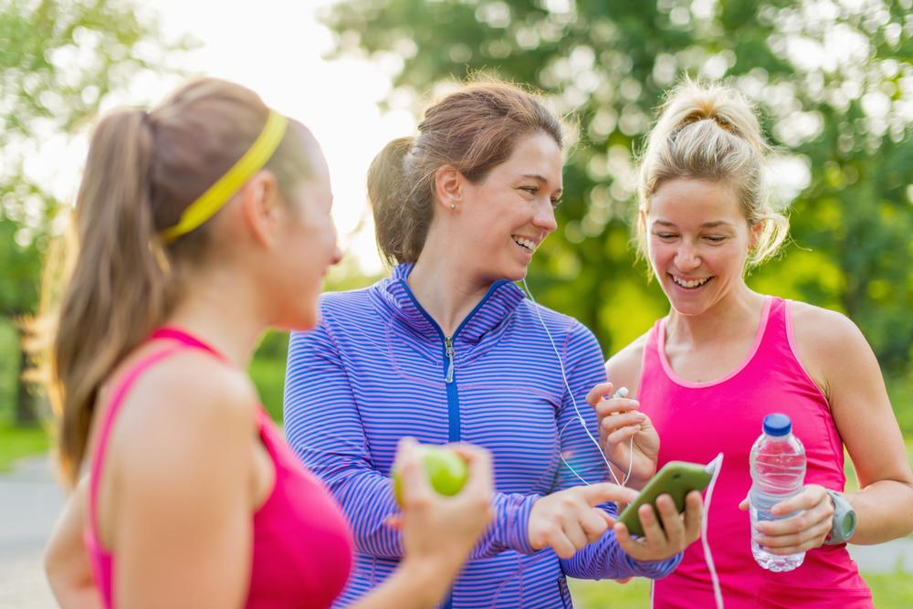 Fitness rewards app Bounts has linked up with apps such as Map My Run / © shutterstock.com/LUMOimages