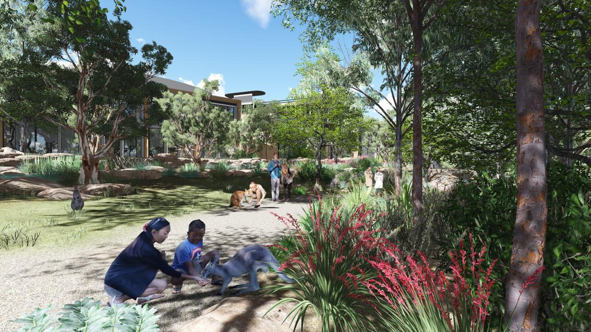Zoo officials are hoping to draw international visitors to the park with the resort option