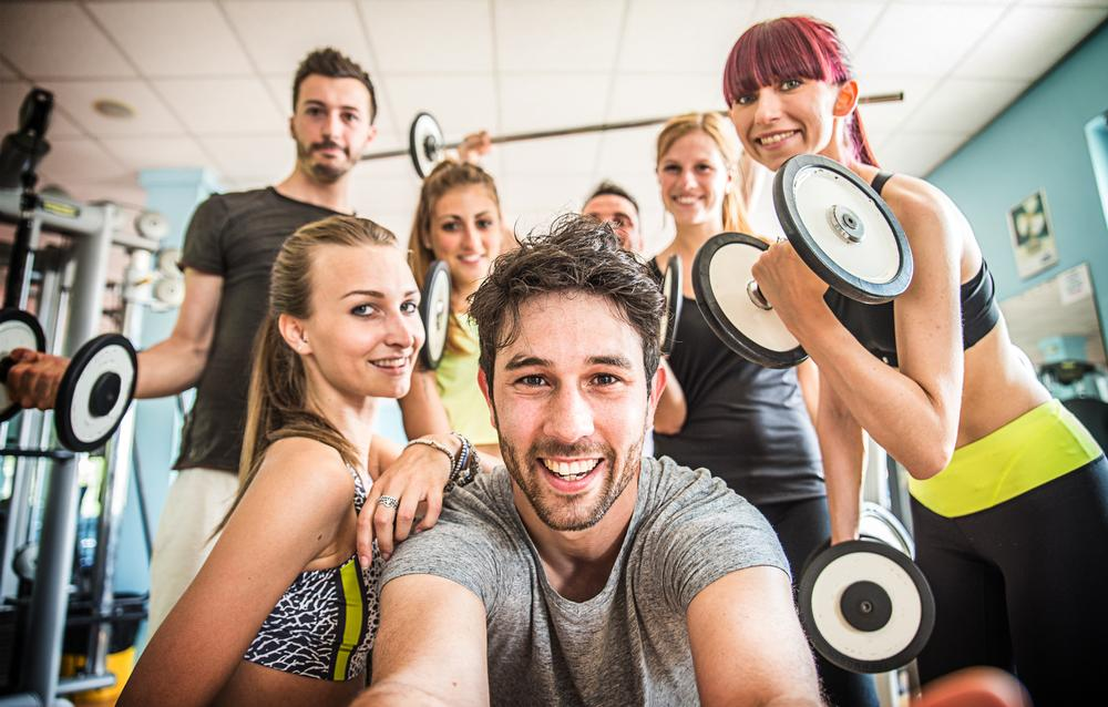 Gyms should avoid only posting images of photogenic people, instead reflecting the whole of society / PHOTO: SHUTTERSTOCK.COM