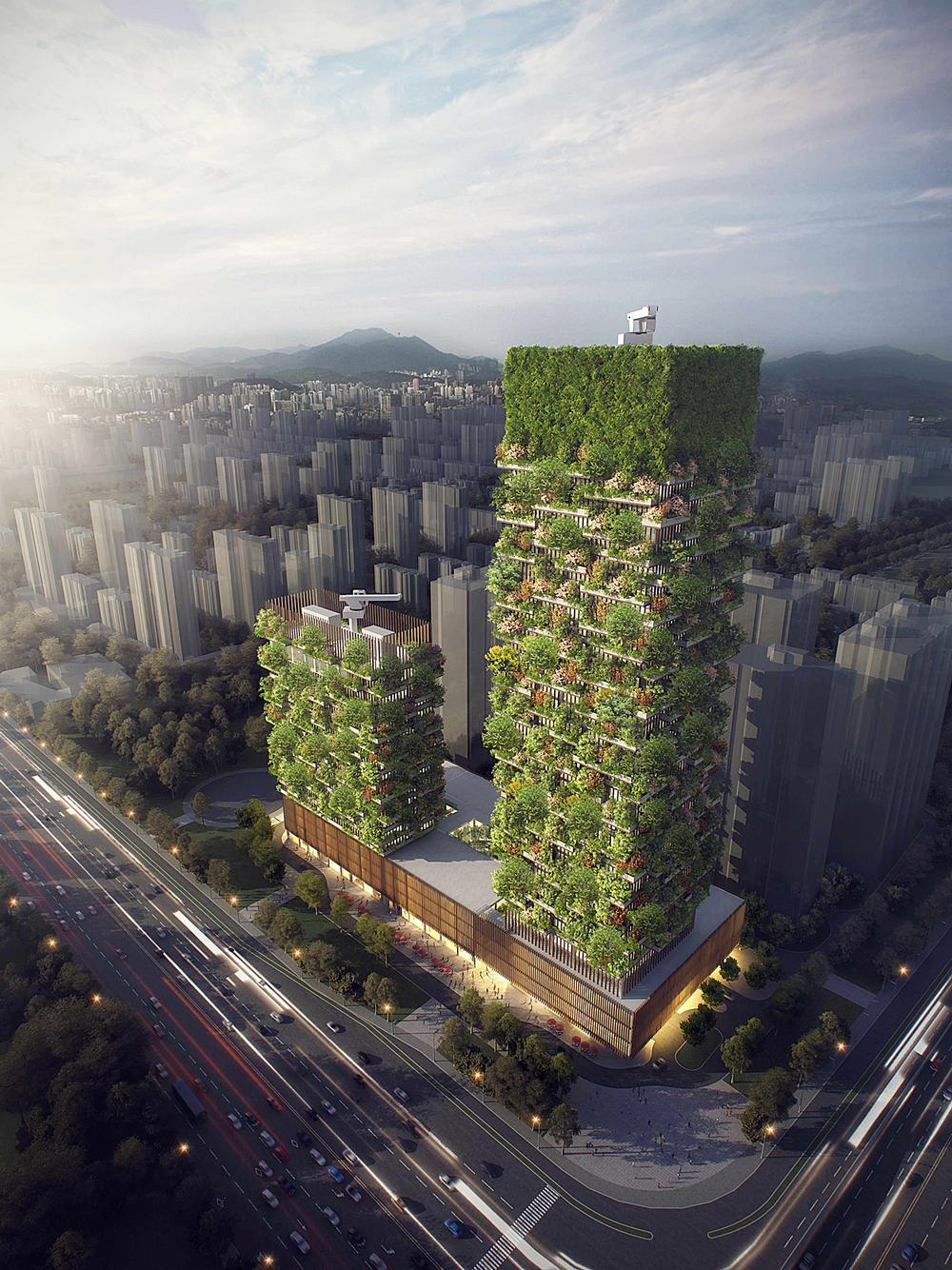 Stefano Boeri is working on a number of major green schemes in China / Stefano Boeri Architetti