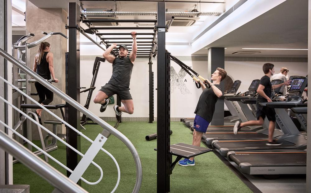 Third Space makes more than 34 per cent of its revenues from non-dues activities, such as small group personal training and from its Fitness Food café