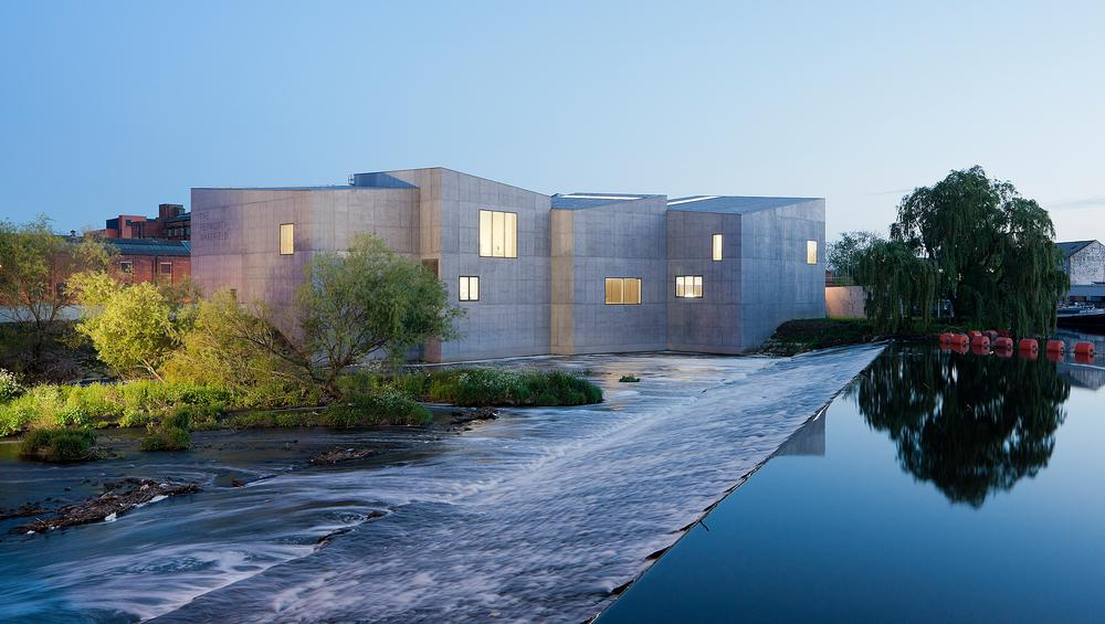 Systems intergration at Chipperfield's Hepworth Wakefield impressed Bellew / PHOTO: Hepworth Wakefield