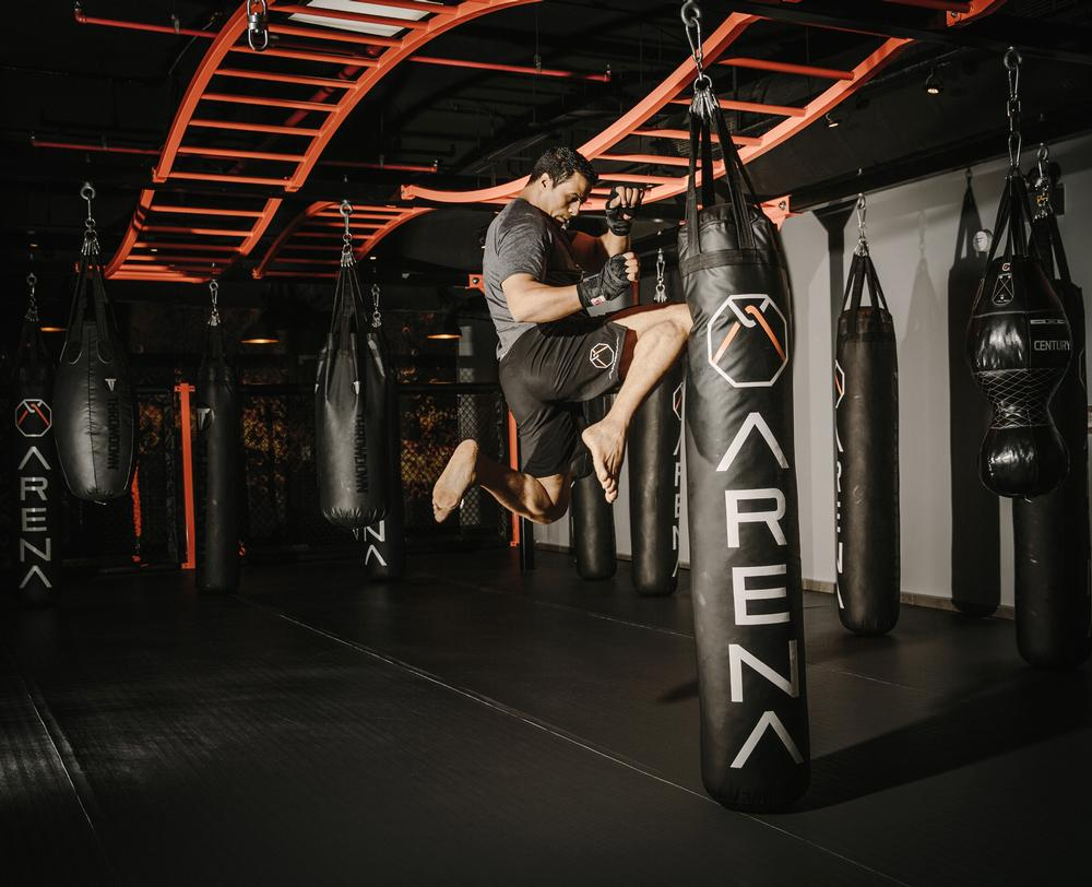 Arena's first site in Jeddah was founded with martial arts training at its heart