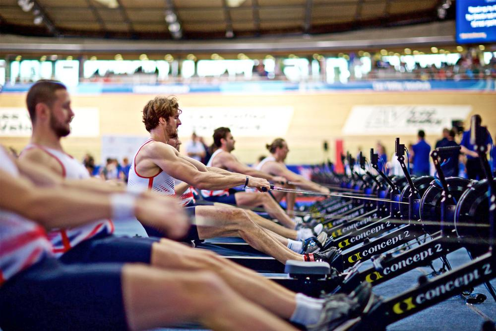 "The physical benefits of indoor and outdoor rowing are ""exactly the same"" / PHOTO: NAOMI BAKER"