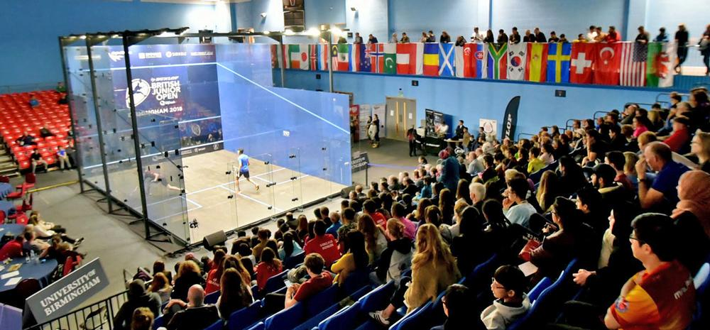 Squash will be held at the University of Birmingham