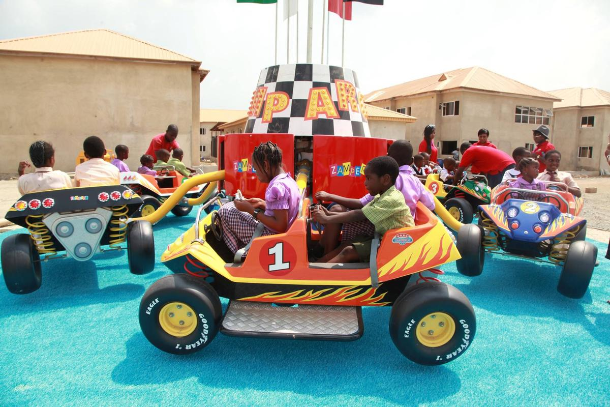 The attraction is one of the largest in nigeria hi impact planet
