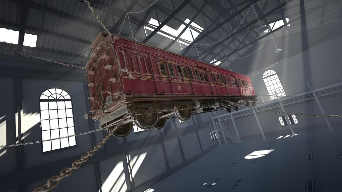 Derren Brown's Ghost Train will be an experience like no other, according to Merlin's creative director / Thorpe Park