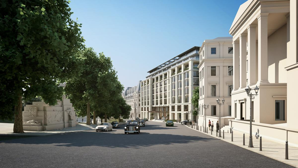 The surrounding area will be re-developed by architects BDP / Grosvenor