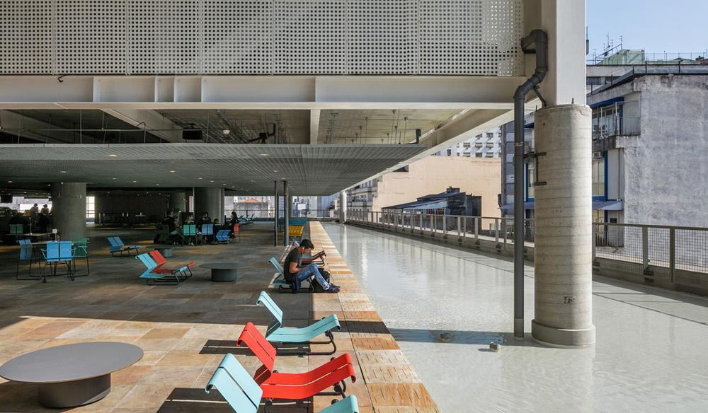 Created for Brazilian non-profit SESC, the 14-storey building has been reimagined as a vibrant fitness, sports, leisure and cultural desination for the people of São Paulo