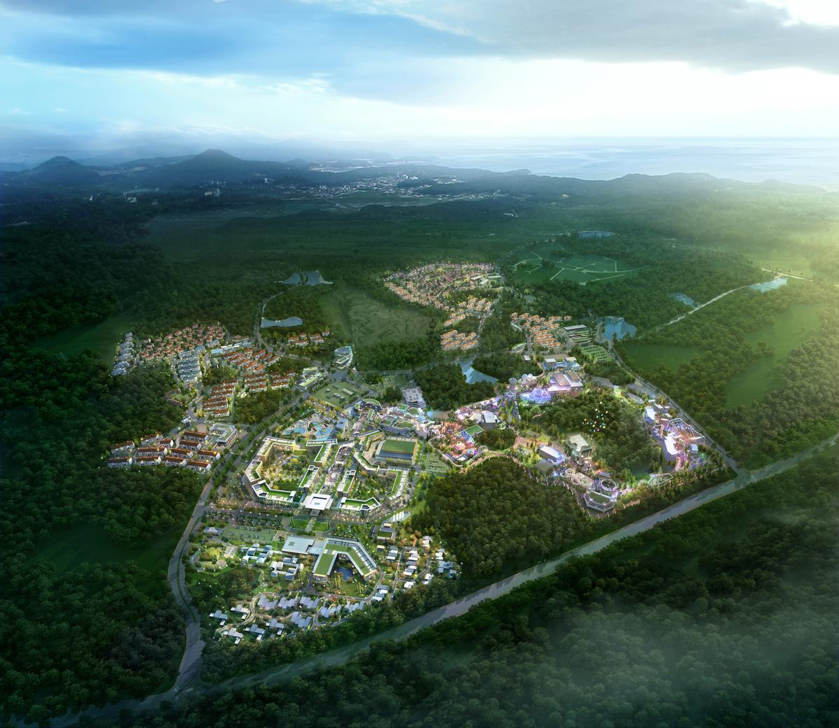 Resorts World Jeju is scheduled to open in 2017