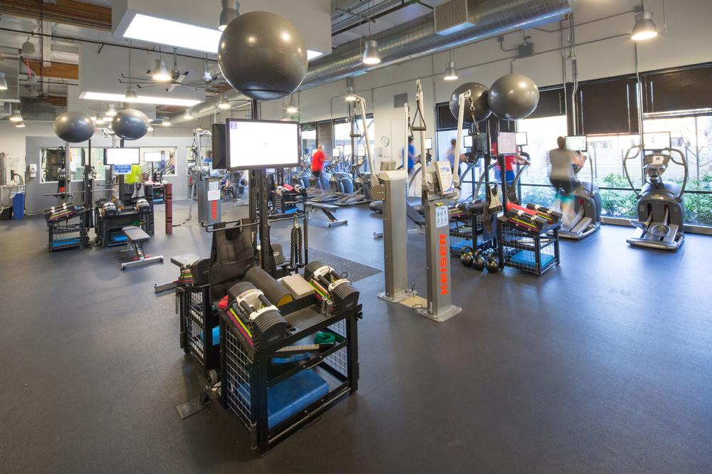 EXOS corporate facilities bring science to bear on workplace wellness