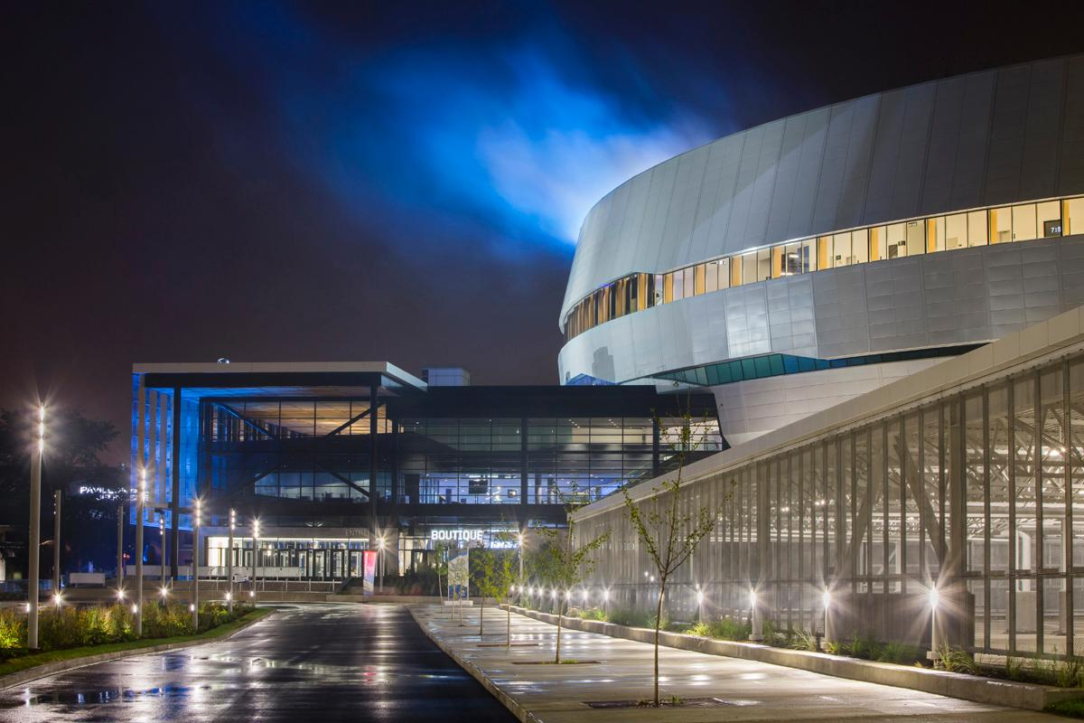 The 18,000-seat arena has been designed by architects Populous