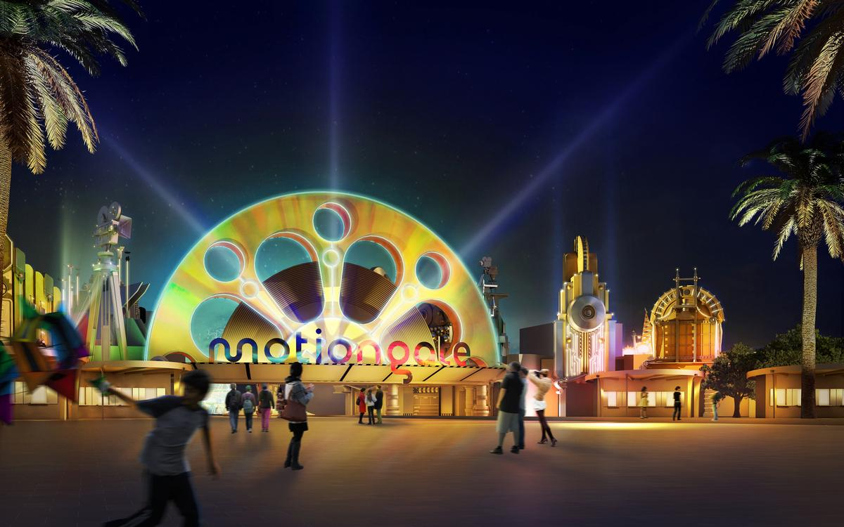 Motiongate will be the Hollywood-themed element of the resort / Dubai Parks & Resorts