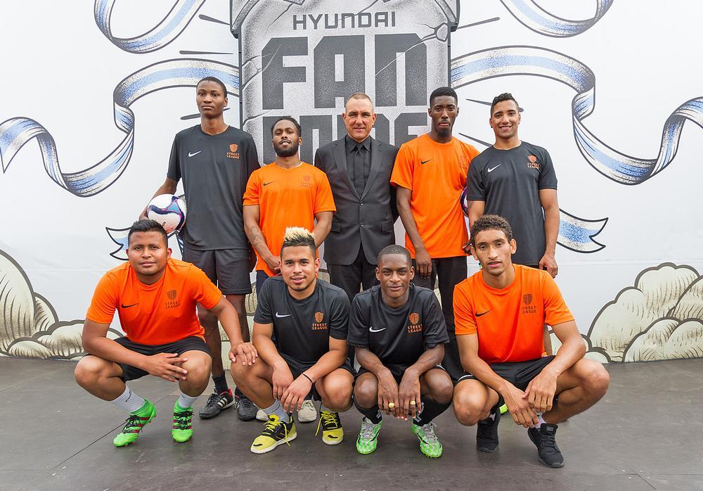Street League partners with Hyundai, enabling ambassadors like Vinnie Jones to build awareness