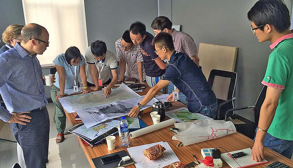 Planners in Changchun, China, study Space Syntax theory