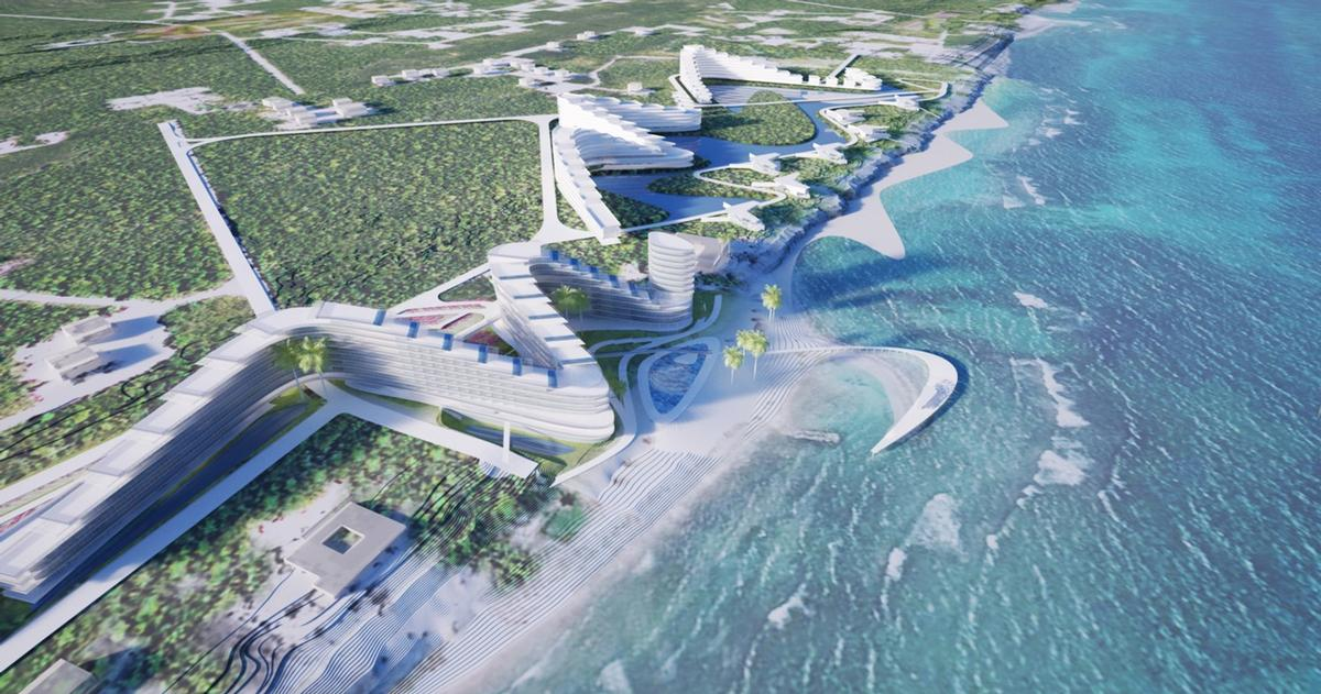 St James Point will be located on a 16-acre property on Grand Cayman Island / TEN Arquitectos