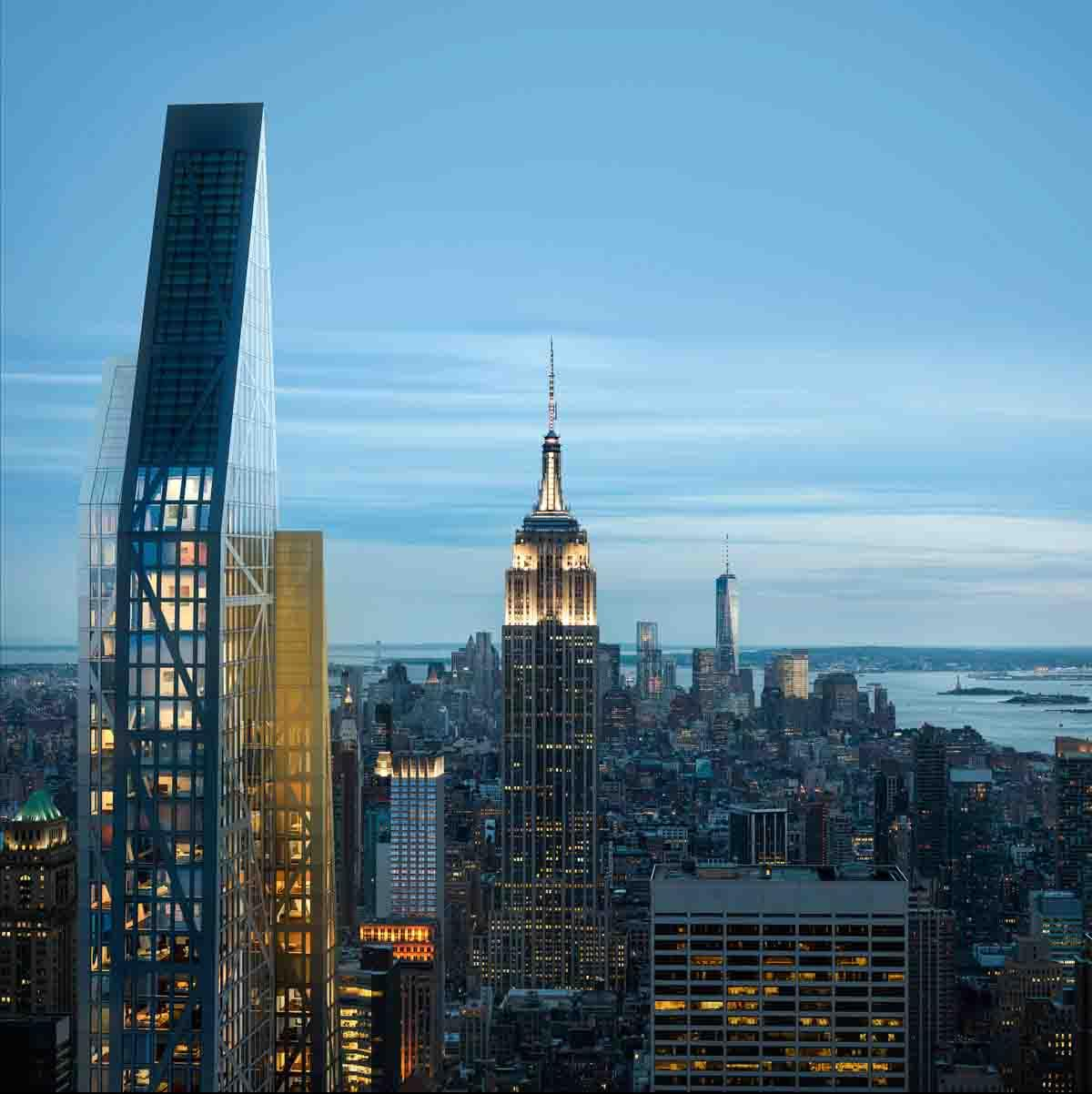 53W53 is among a series of new additions to the Manhattan skyline / Hayes Davidson
