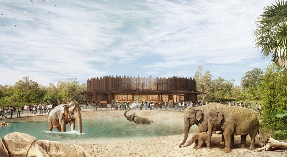 The plans have been conceived by Misho + Associates (M+A) in conjunction with landscape architecture from Aspect Studios