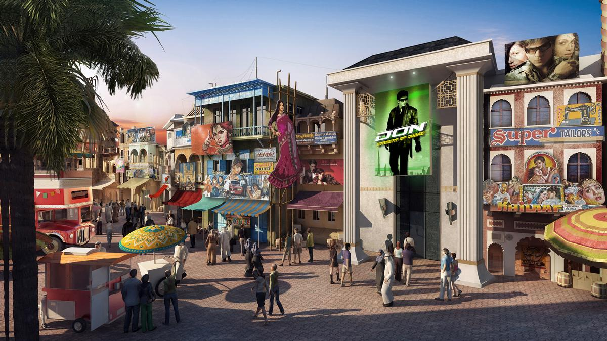 The Bollywood park is a first for the region / Dubai Parks & Resorts