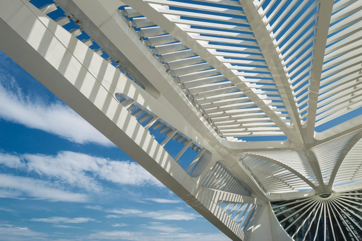 The museum has been awarded the highest standard of LEED certification for its sustainable elements / Santiago Calatrava Architects and Engineers