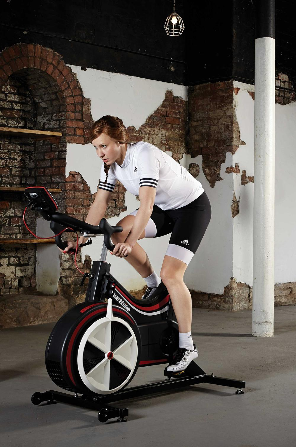 Cyclist Joanna Rowsell Shand has used the Wattbike for two years