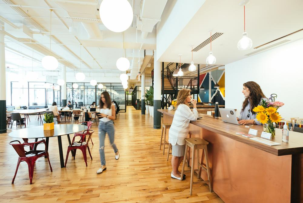 WeWork's shared workspaces are expanding to offer users a wide range of fitness, wellness and spa facilities