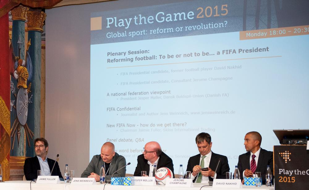 Play the Game conferences attract people from all sectors of sport