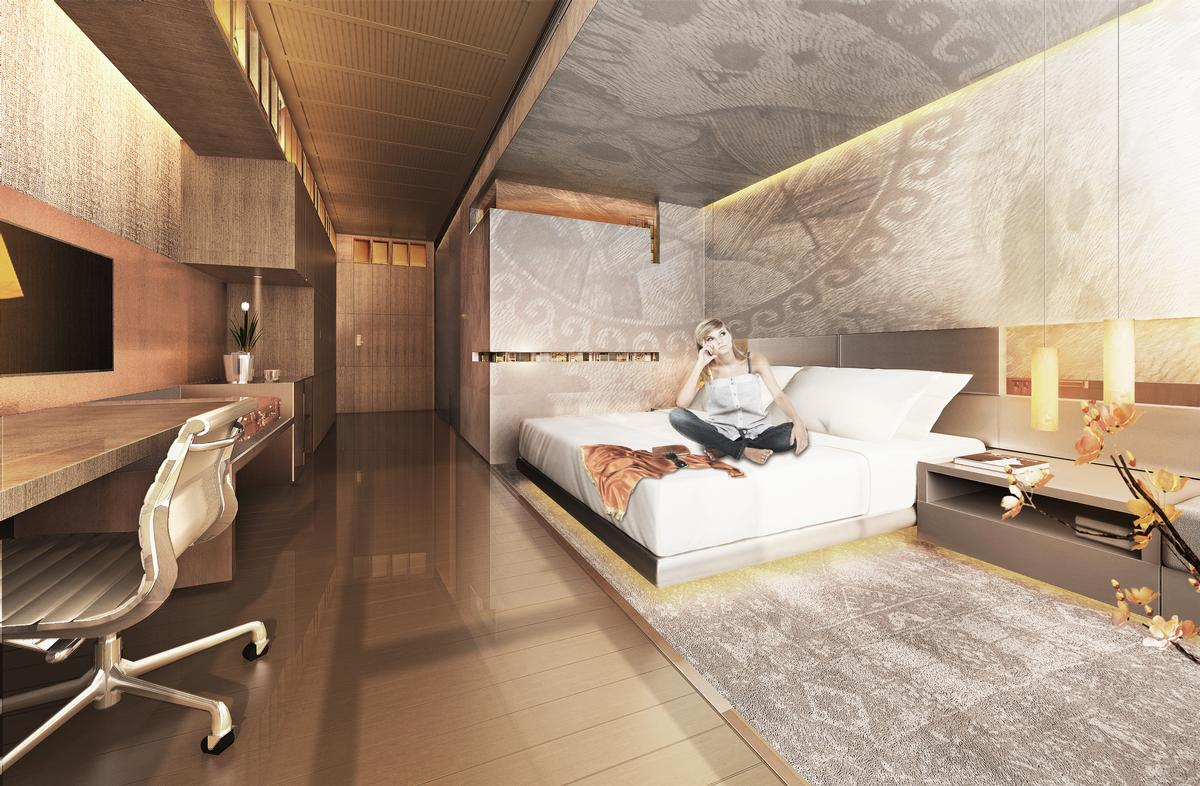 The hotel will be operated under the Hilton Hotels & Resorts brand