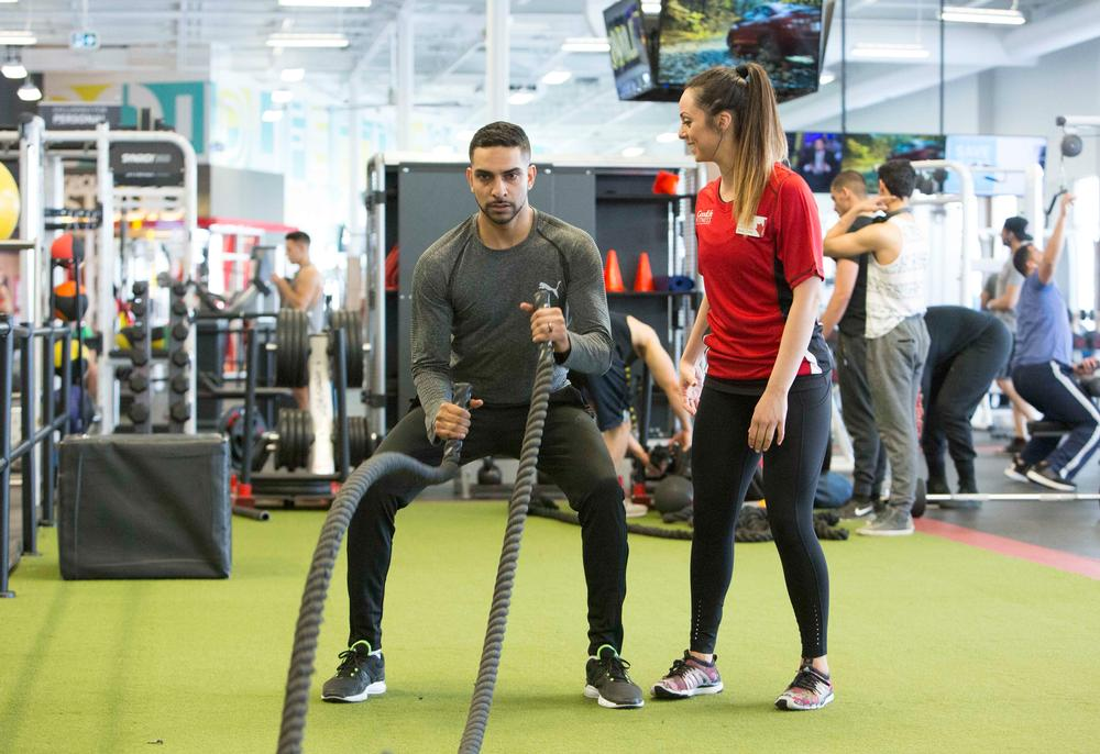Canada's Goodlife Fitness has over 1.6m members