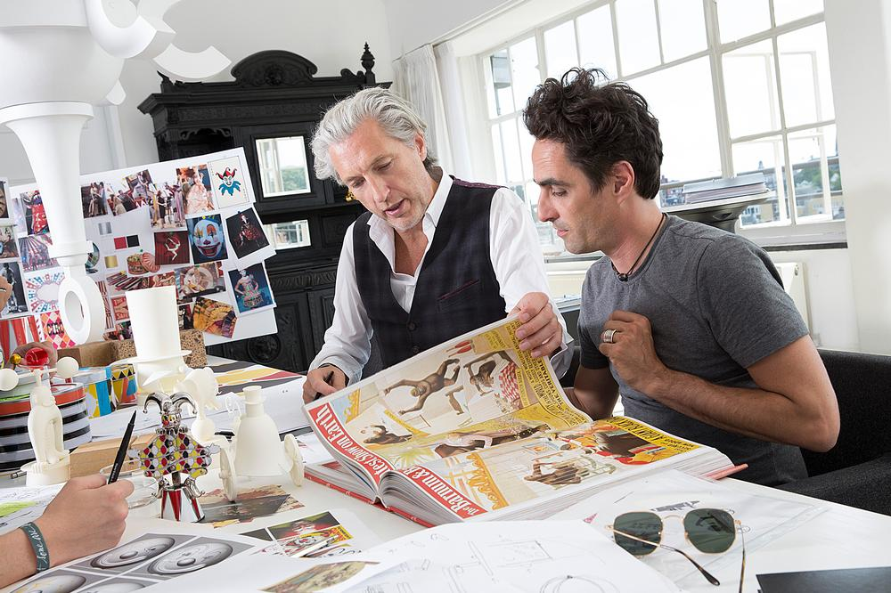 Marcel Wanders leads a multidisciplinary team of 40.