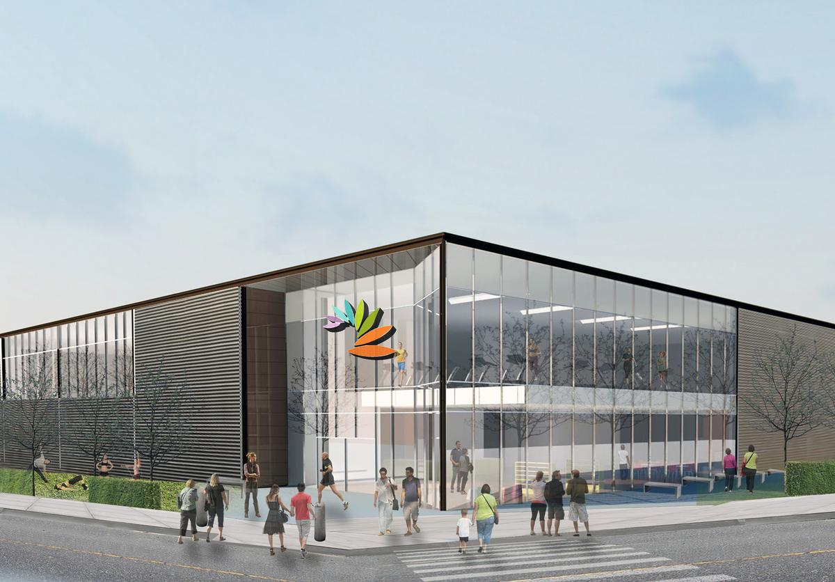The centre will provide residents with a one-stop-shop for all their leisure, health and wellbeing and cultural needs