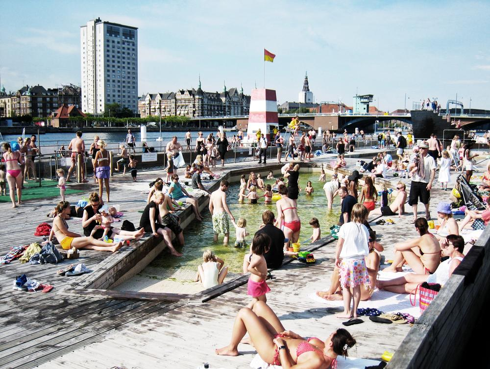 Copenhagen, known as a people-friendly city