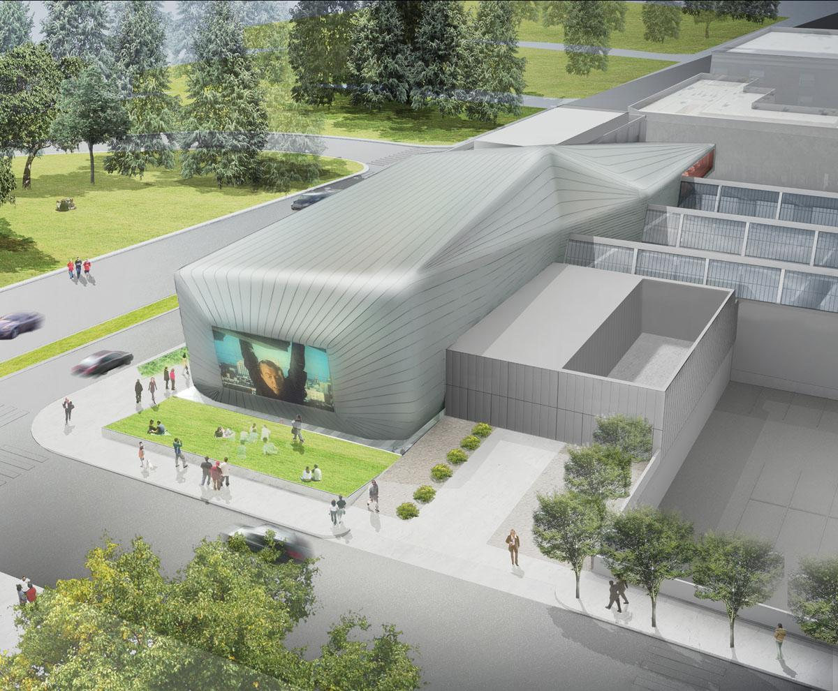 The Berkeley Art Museum and Pacific Film Archive by Diller Scofidio + Renfro